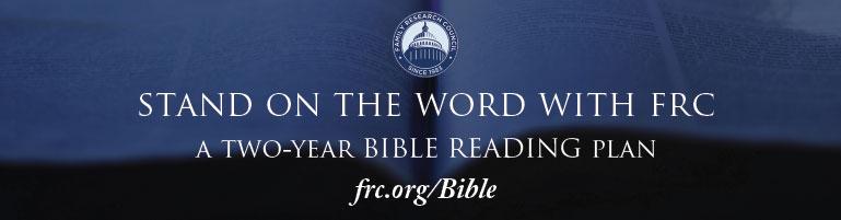Bible study plan