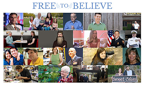Take a Stand for the Freedom to Believe!