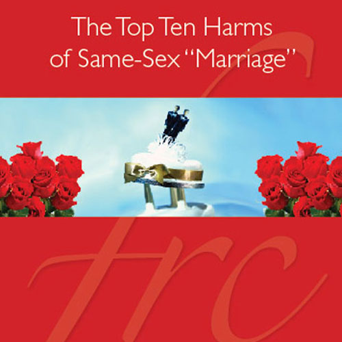 top ten harms of same sex marriage in Swindon