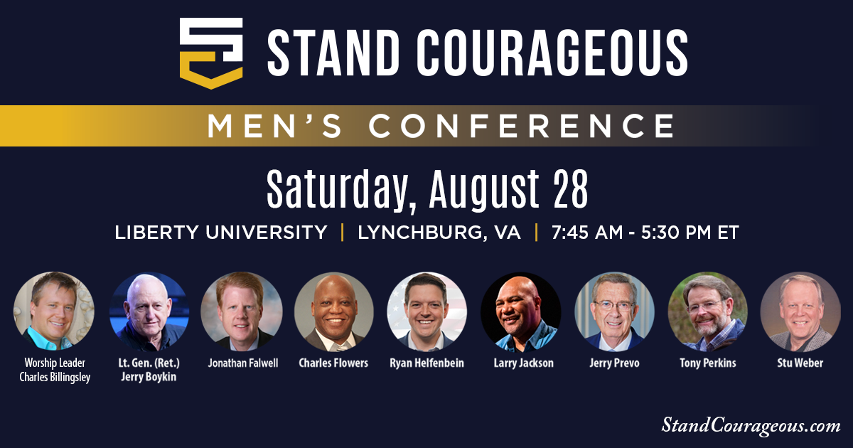 Stand Courageous Men's Conference - Lynchburg, VA