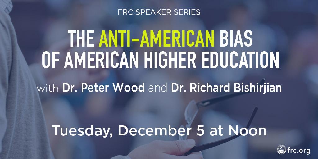 The Anti-American Bias of American Higher Education