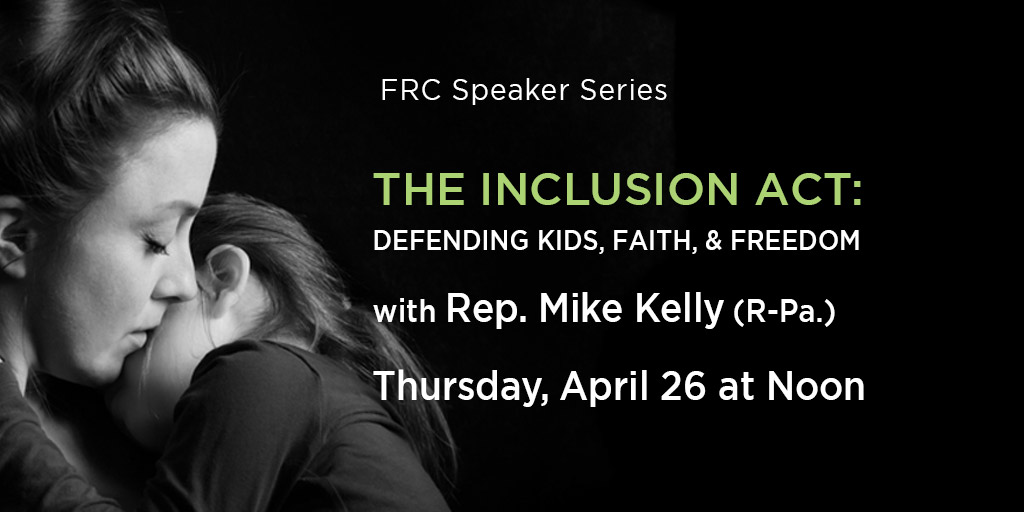 The Inclusion Act: Defending Kids, Faith, & Freedom